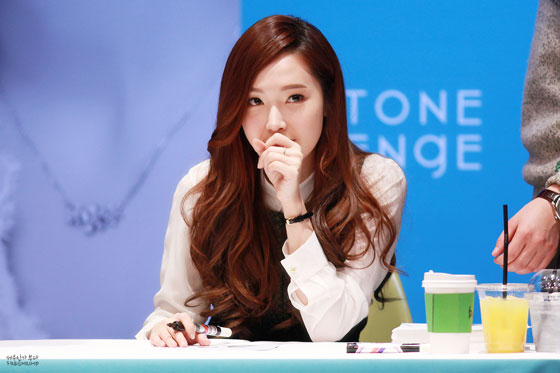 SNSD Jessica Stonehenge fansign 2013