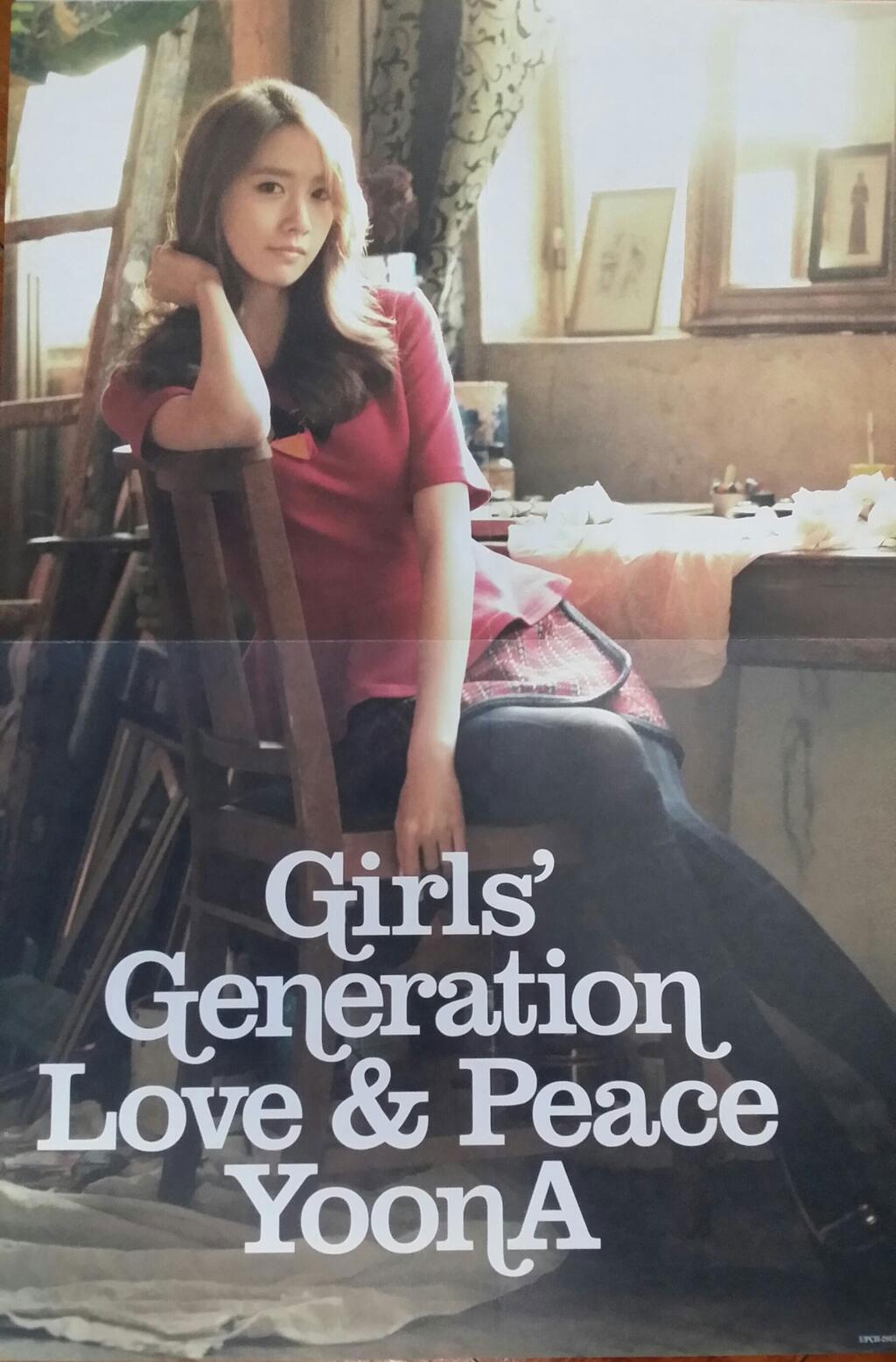 Girls Generation Album Girls Generation Yoona Love
