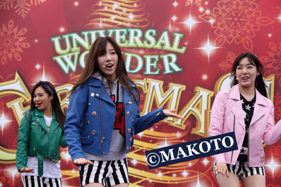 SNSD Love Peace Universal Studios Japan showcase