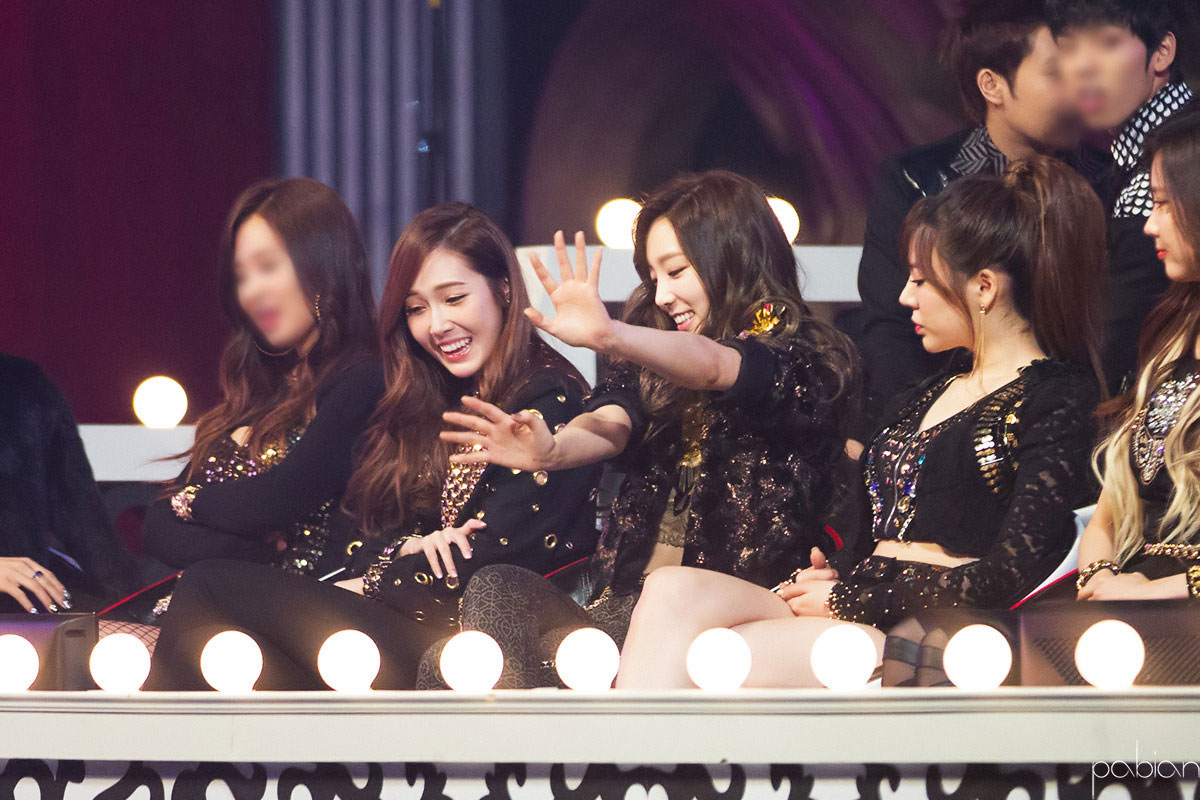 SNSD Taeyeon Jessica SBS Gayo Daeju 2013