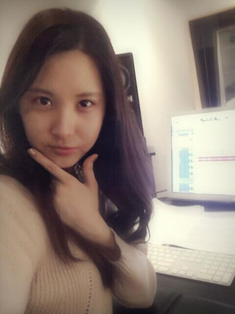 SNSD Seohyun Twitter selca picture