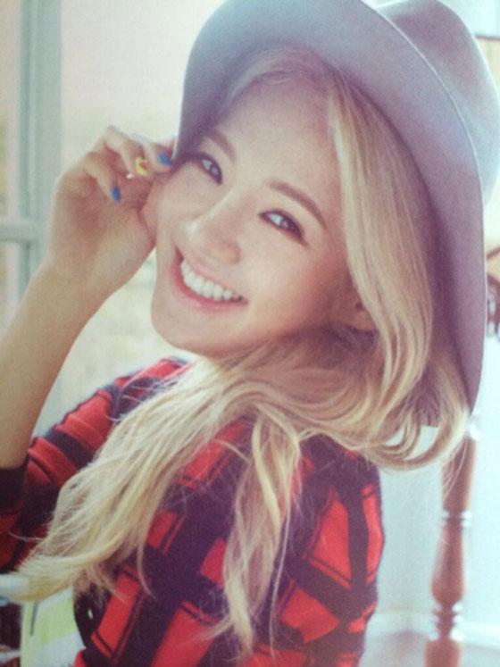 SNSD Hyoyeon Japanese Sone Note Magazine