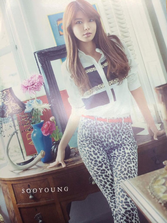 SNSD Sooyoung Japanese Sone Note Magazine