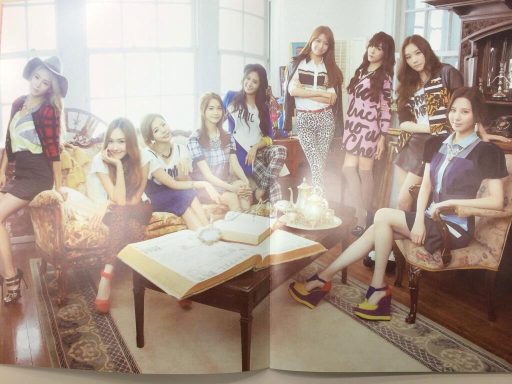 Girls Generation Japanese Sone Note Magazine