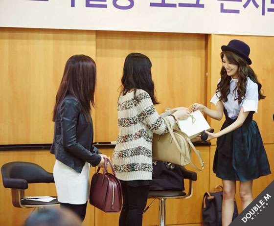 SNSD Sooyoung DoubleM Styling Talk event