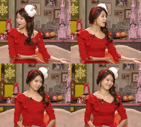 SNSD Sooyoung Xmas Midnight TV Entertainment