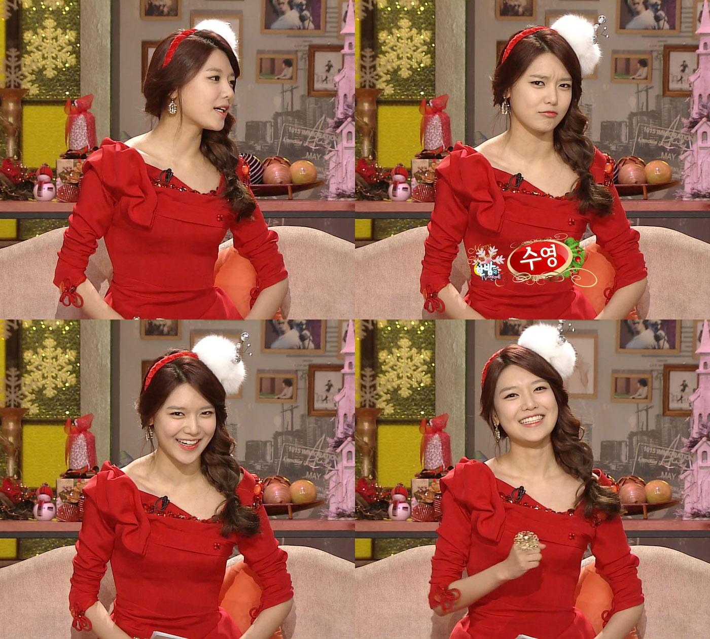 Sooyoung Xmas Midnight TV Entertainment