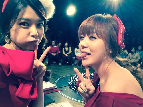 SNSD Sooyoung Christmas selca 2013