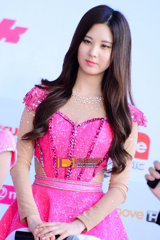 SNSD Seohyun Girls Peace Bangkok press event