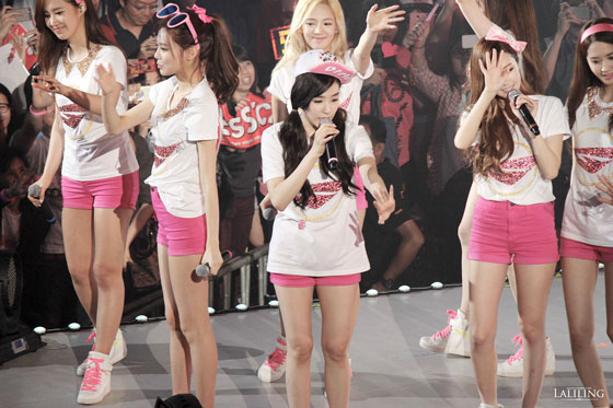 SNSD Tiffany World Tour Bangkok 2014