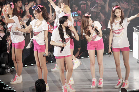 Girls Generation World Tour Bangkok 2014