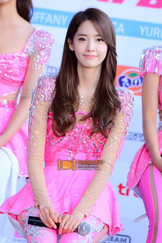 SNSD Yoona Girls Peace Bangkok press event