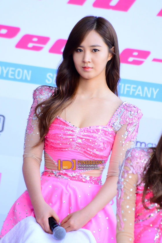 SNSD Yuri Girls Peace Bangkok press event