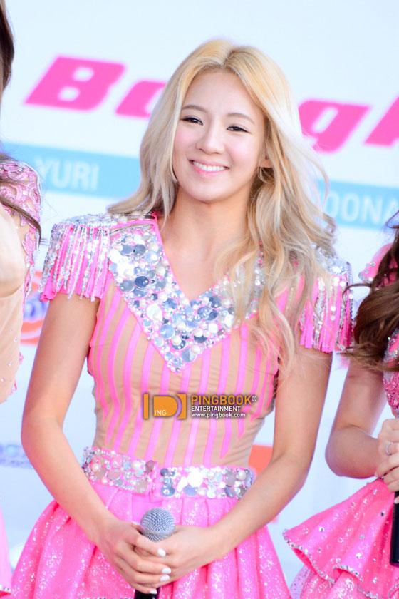 SNSD Hyoyeon Girls Peace Bangkok press event