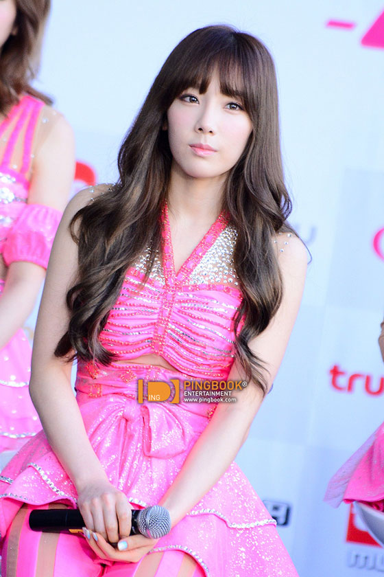 SNSD Taeyeon Girls Peace Bangkok press event