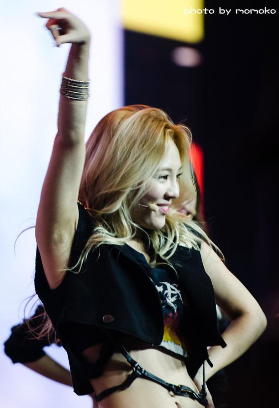 SNSD Hyoyeon Blade Soul Shanghai showcase