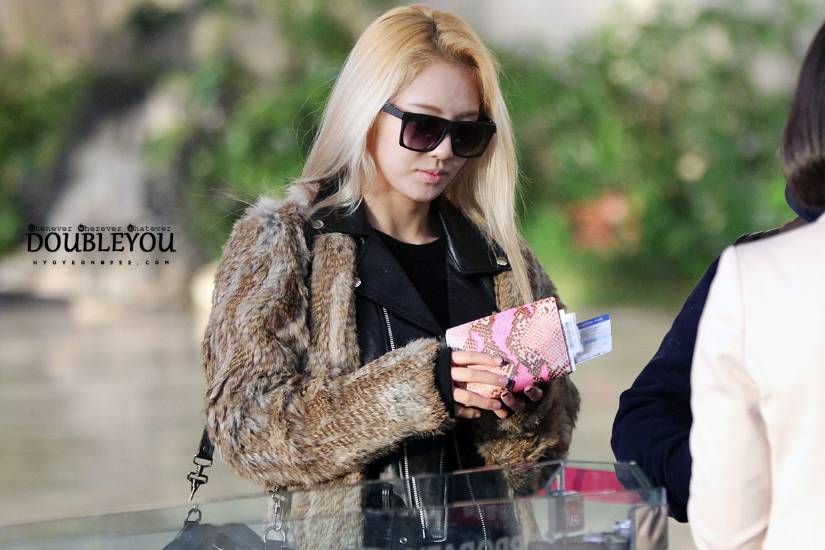 Hyoyeon Gimpo Airport to-from Japan