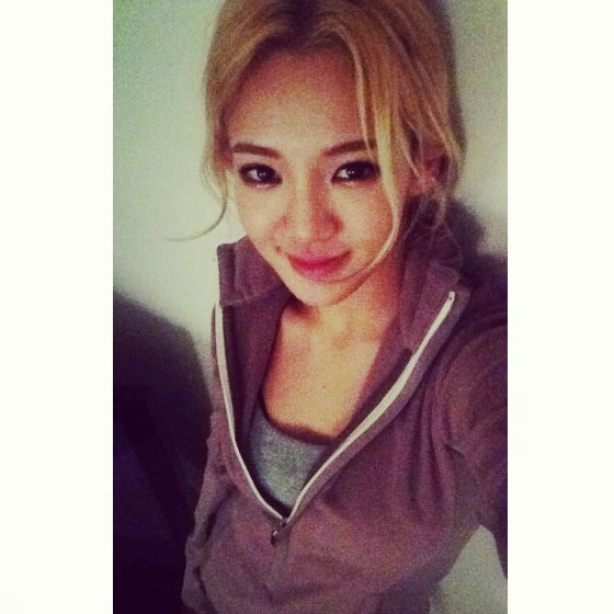 SNSD Hyoyeon beautiful 2014 selca
