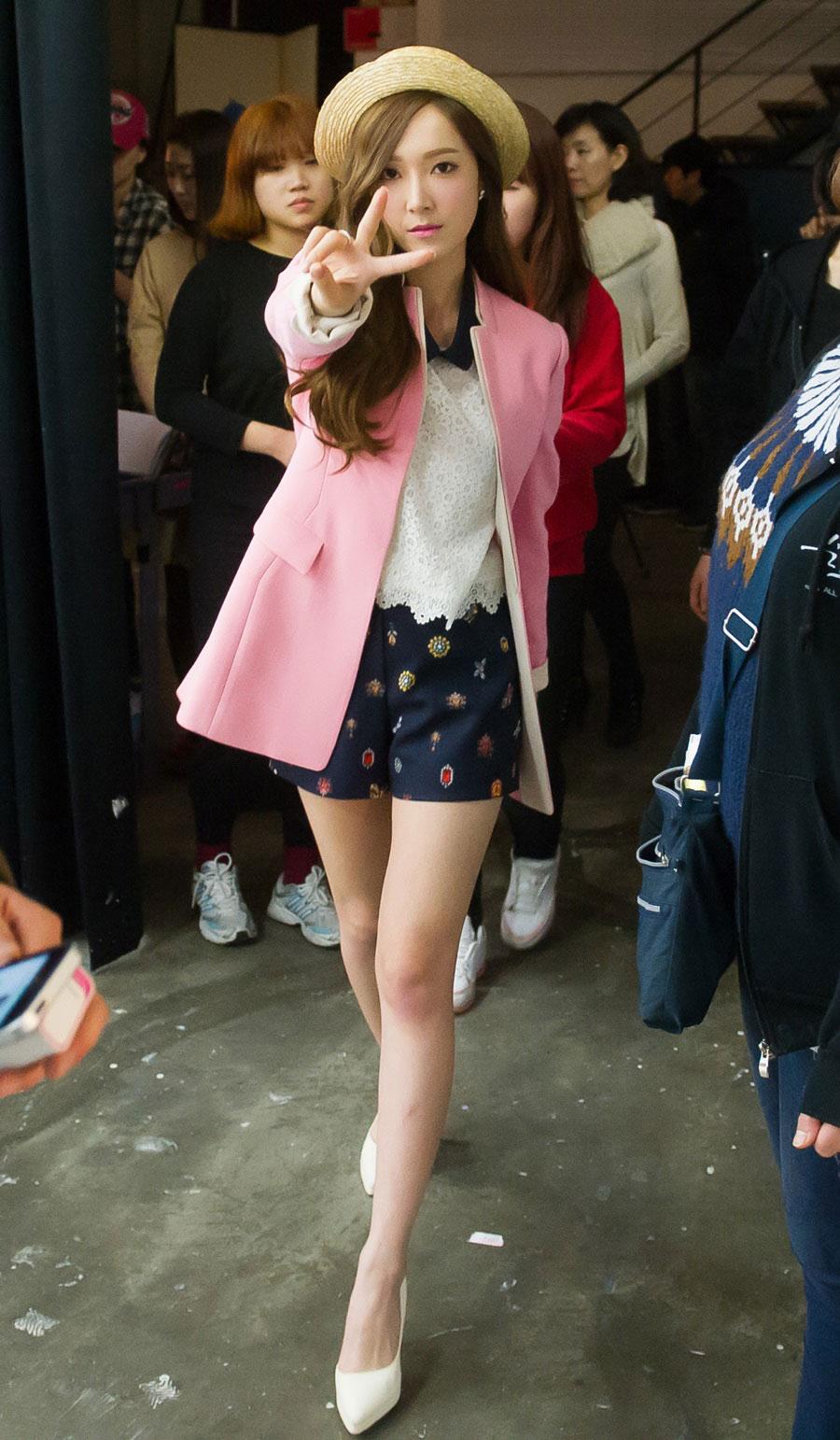Jessica SOUP 2014 S/S photoshoot BTS