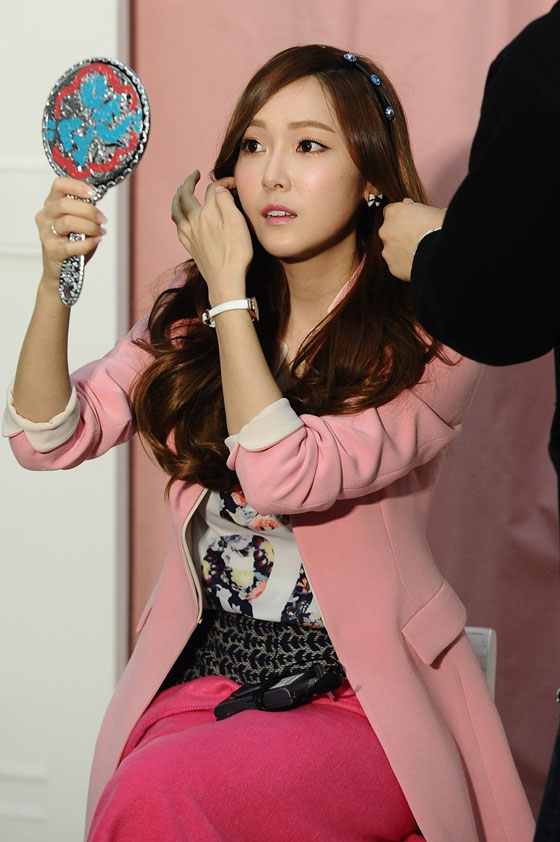 SNSD Jessica SOUP 2014 SS photoshoot
