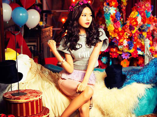 SNSD Sooyoung Love Peace Japanese website