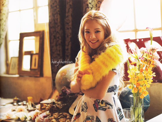 SNSD Hyoyeon Love Peace Japan album photobook