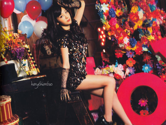 SNSD Taeyeon Love Peace Japan photobook scan