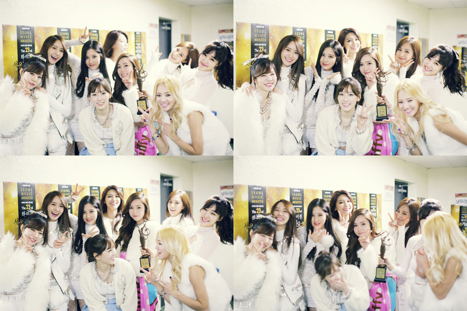 Seoul Music Awards 2014 trophy moment