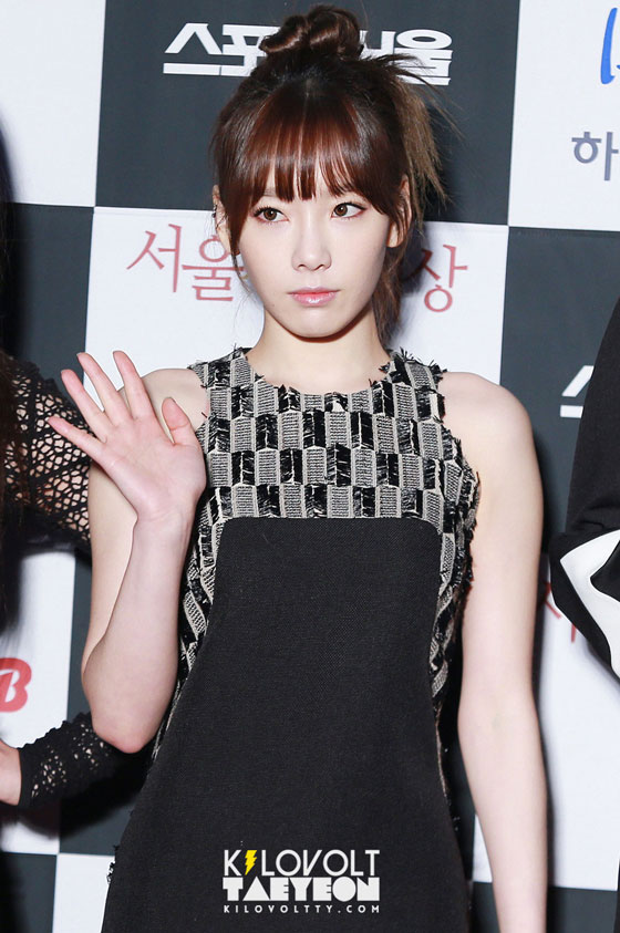 SNSD Taeyeon Seoul Music Awards 2014