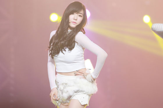 SNSD Tiffany MBC Gayo Daejejeon 2013