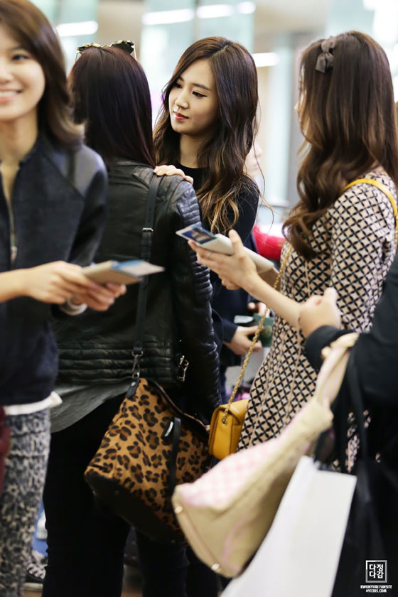 SNSD Yuri Incheon Airport to Beijing