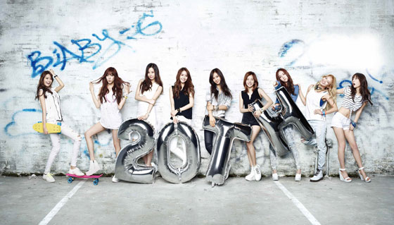 SNSD Casio BabyG 20th anniversary wallpaper