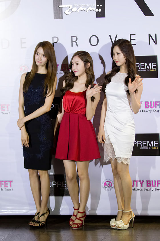 Jessica Yoona Seohyun Girl Thanks Party