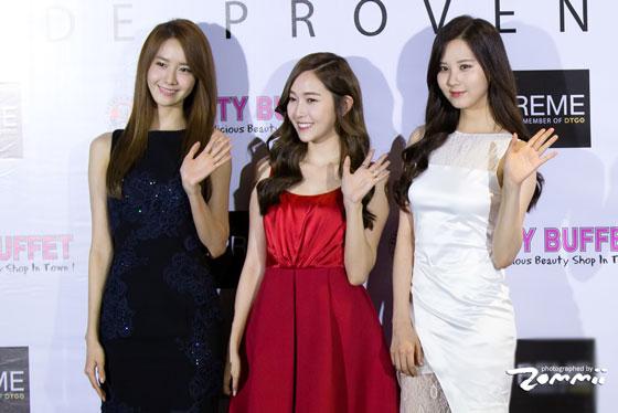 Jessica Yoona Seohyun Girl Thanks Party