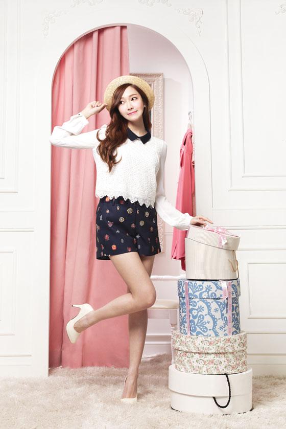 SNSD Jessica Soup 2014 SS fashion ad