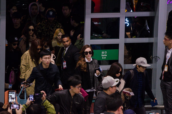 Girls Generation Macau International Airport