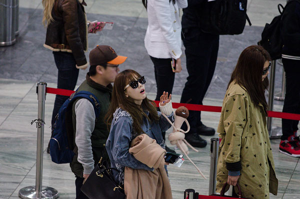 SNSD Taeyeon Macau International Airport