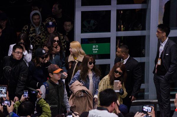 Girls Generation Macau International Airport