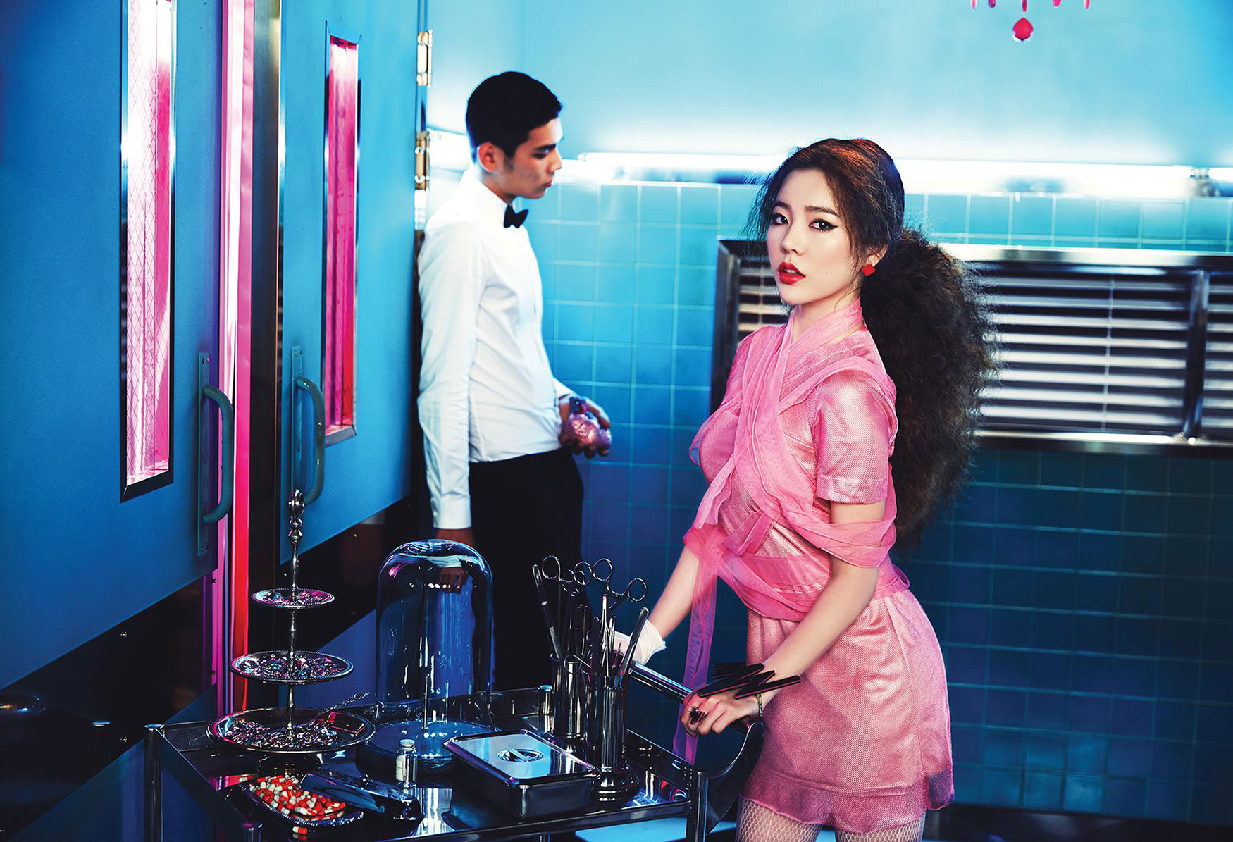 SNSD Sunny Mr Mr 2014 concept photo