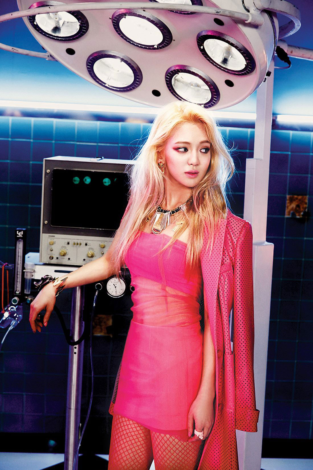 SNSD Hyoyeon Mr Mr 2014 concept photo