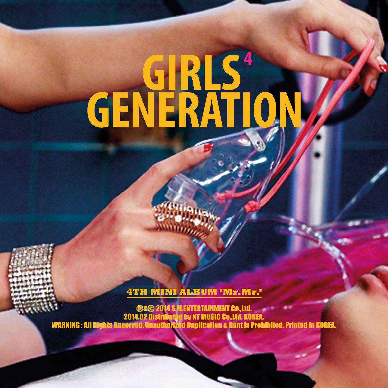 SNSD MrMr Korean album jacket