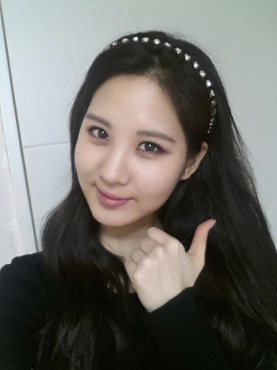 SNSD Seohyun February 2014 Twitter selca