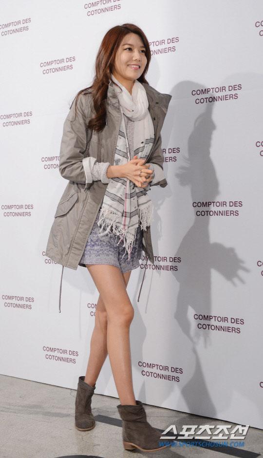 SNSD Sooyoung  Comptoir des Cotonniers fashion event