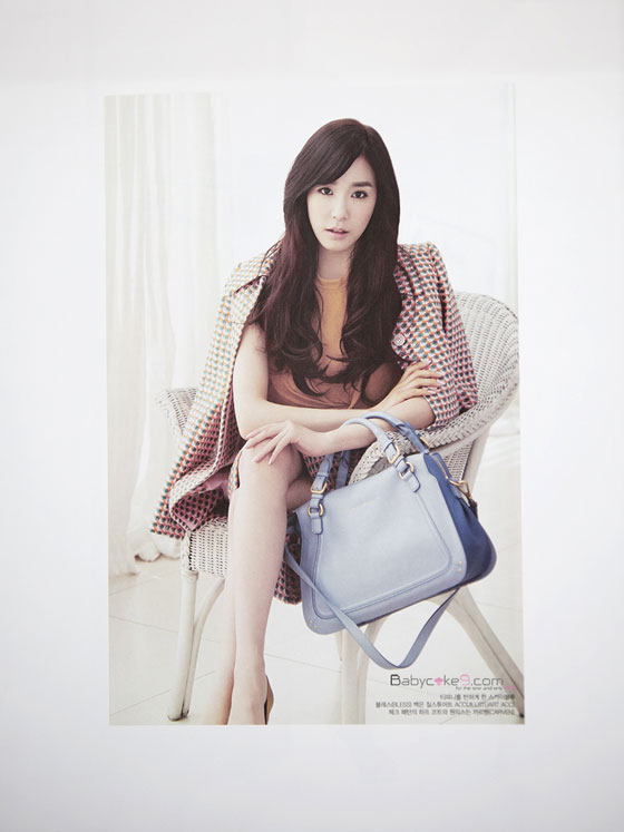 SNSD Tiffany Jill Stuart Vogue Magazine