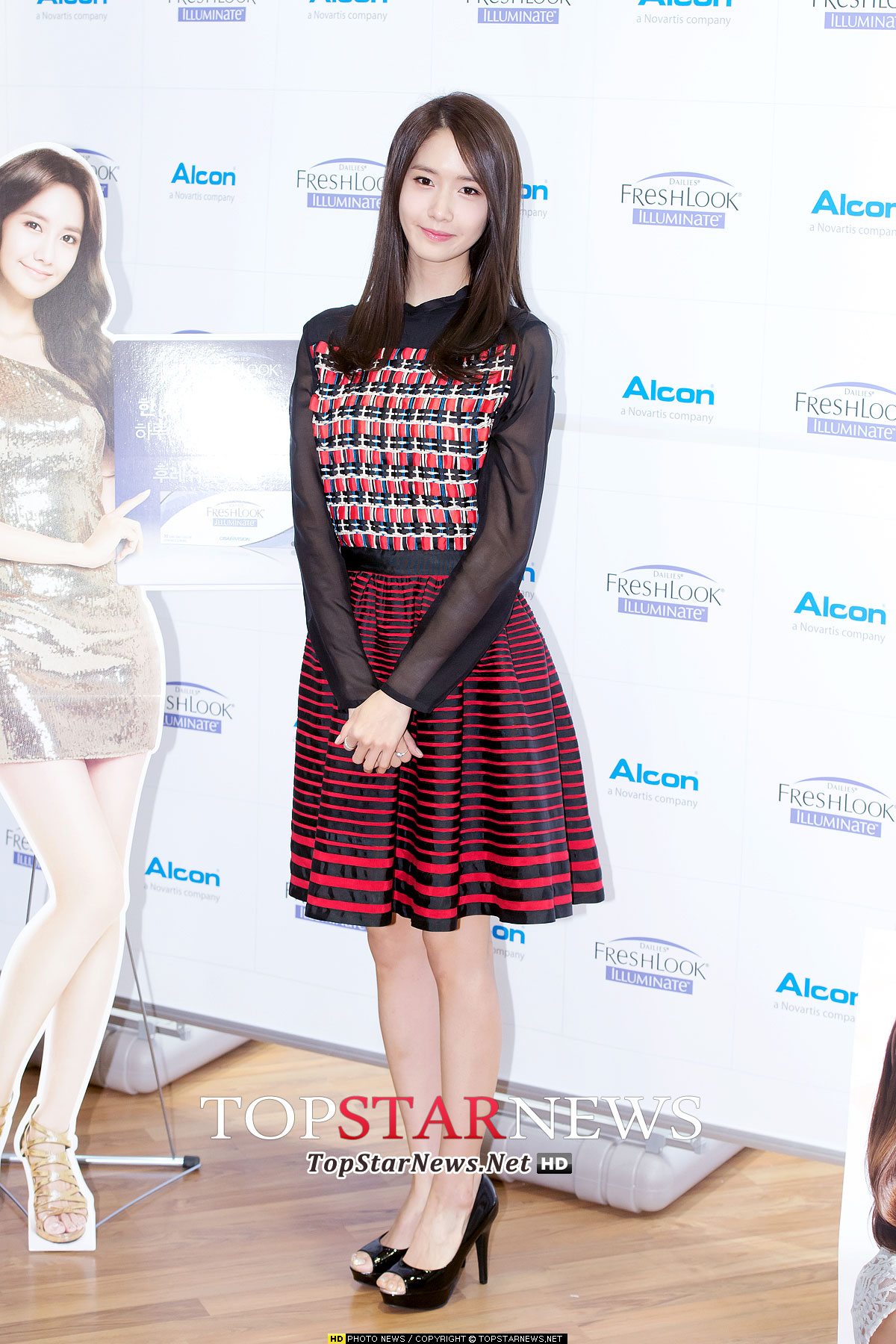 Yoona Alcon Freshlook Illuminate event