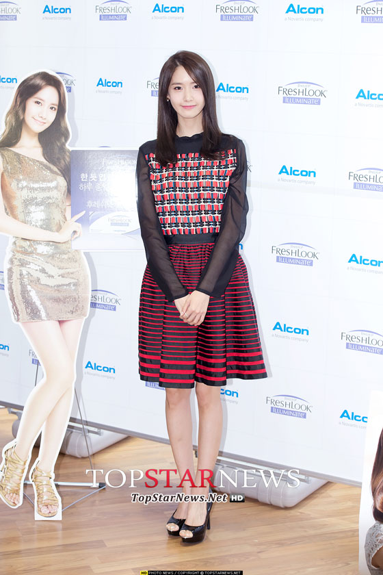 SNSD Yoona Alcon Freshlook Illuminate event