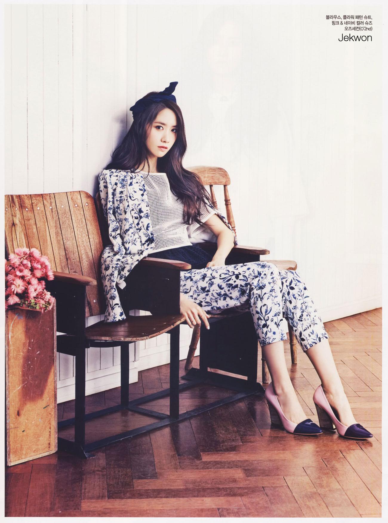 SNSD Yoona CeCi Magazine