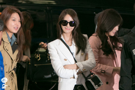 SNSD Yoona Incheon airport fashion to Macau