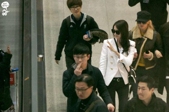 SNSD Yoona Incheon airport fashion to Macau