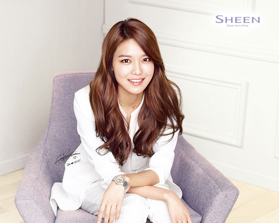 SNSD Sooyoung Casio Sheen wallpaper